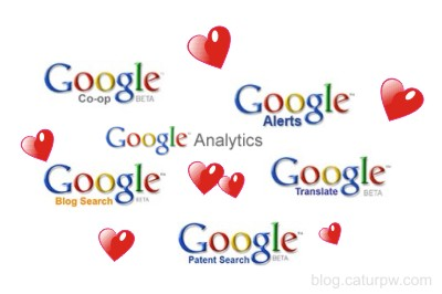 Google love You very much! (online personal branding development tools)