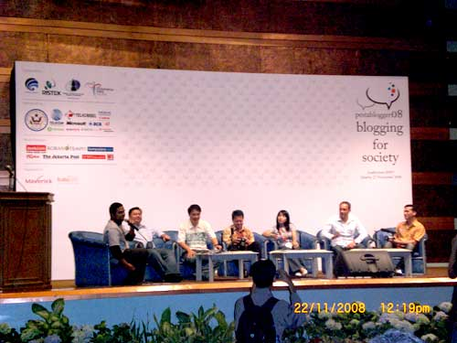 New Indonesia Tourism Campaign   versi pesta blogger 2008