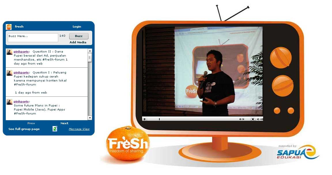 FreSh TV @ FreSh (Freedom of Sharing) April 2009