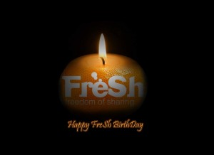 August 28, 2008: Happy FreSh 1st BirthDay