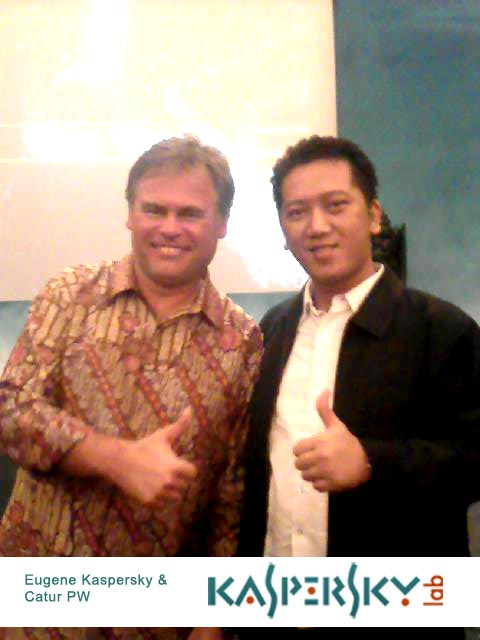 Meet and Greet Eugene Kaspersky