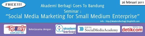 Free Seminar info: Social Media Marketing for SME