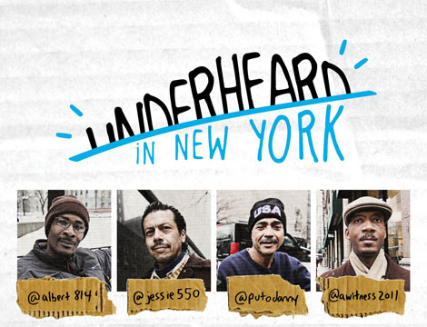 Inspiring Campaign: Underheard in New York